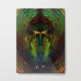 Owly spirit Metal Print