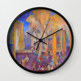 New College Palm Court Party Wall Clock