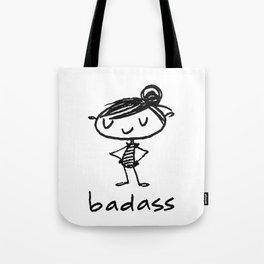 bad-ass Tote Bag