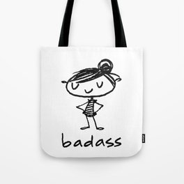 bad-ass Tote Bag