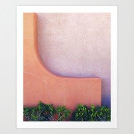 On the Curve Art Print