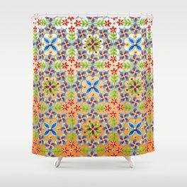 Decorative Tangerine Gothic Shower Curtain