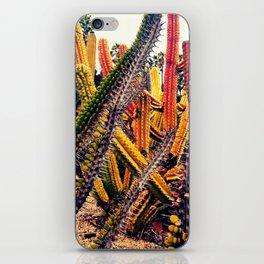 gardens of Barcelona. cactuses iPhone Skin