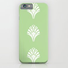 S6 Abbey Chic Classique Pattern (green) iPhone 6s Slim Case