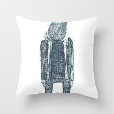 monsieur poire Throw Pillow