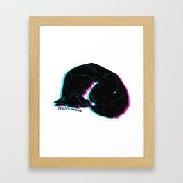 Bork. Framed Art Print
