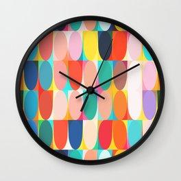 Colourful Dots Wall Clock