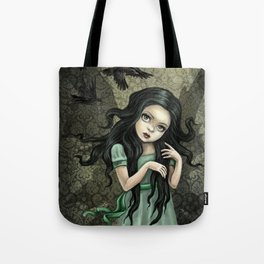Shadow Wings Faerie Tote Bag