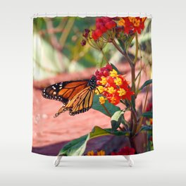 Monarch Beauty Shower Curtain