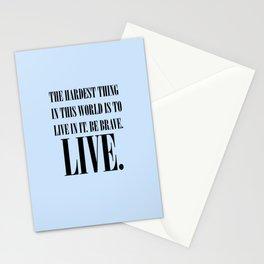Live Stationery Cards