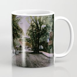 1900 Canford Magna village Dorset England Coffee Mug