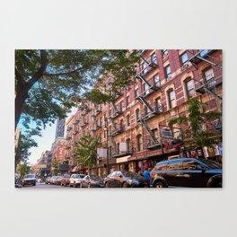 Lower eastside new york Canvas Print