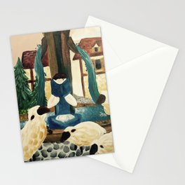 Belle Reading from Beauty and the Beast Stationery Cards