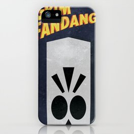 Minimalist Grim Fandango Poster iPhone Case