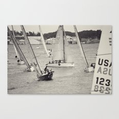 Stacked Finish Canvas Print
