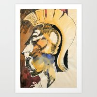 roman Art Prints featuring Roman by Ecsentrik
