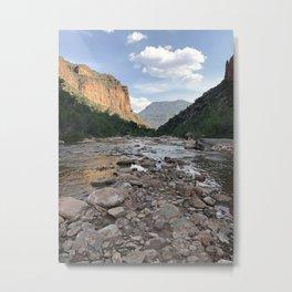 River of Rocks Metal Print