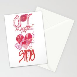 JOY Makes My Heart Sing Stationery Cards