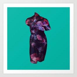 She Who Lives Delicately Art Print