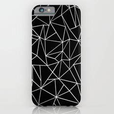 Abstraction Outline Black and White Slim Case iPhone 6s