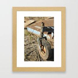 Wheeled Along Framed Art Print