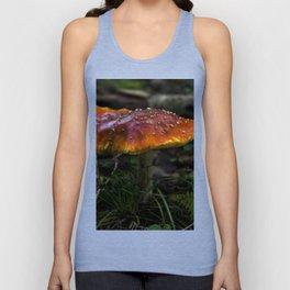 Mushroom Unisex Tank Top
