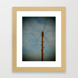 Lines and Lines and Lines Framed Art Print