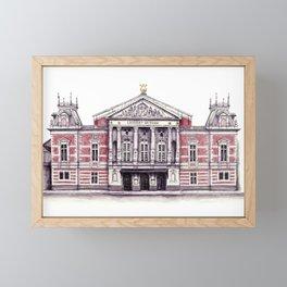 Royal Concert Hall Amsterdam Framed Mini Art Print