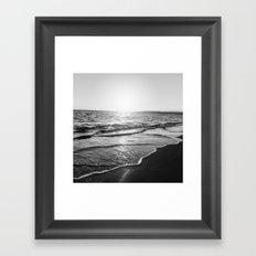 BEACH DAYS XIV Framed Art Print