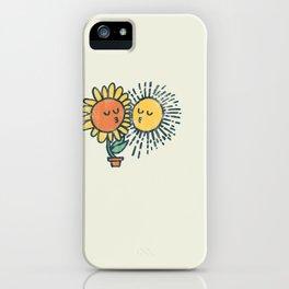 Sun Kissed sunflower iPhone Case