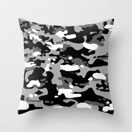 Military Camouflage: Urban I Throw Pillow