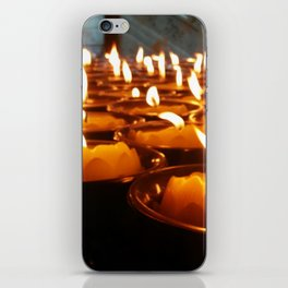 Temple Candles iPhone Skin