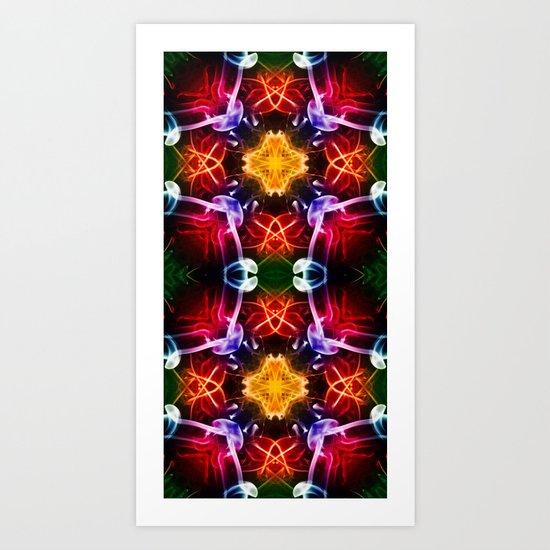 DNA 3 Art Print