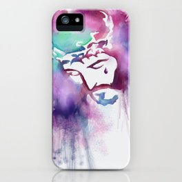 Jesus Pop Art iPhone Case