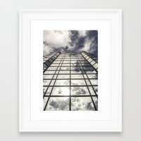 mirror Framed Art Prints featuring Mirror by Mark Spence