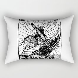 Believe the Dogma - Pyramid Rectangular Pillow