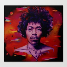 Voodoo Child Canvas Print