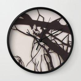 Bare Trees Wall Clock