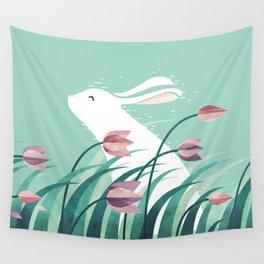 Rabbit, Resting Wall Tapestry