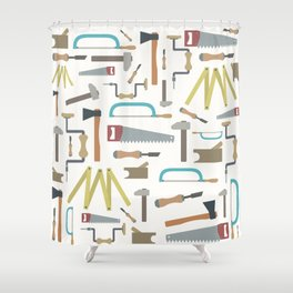 Carpenter world Shower Curtain