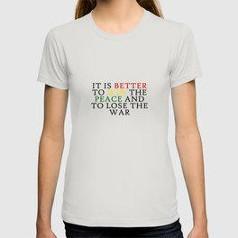 It Is Better To Win Quote Art Design Inspirationa T-shirt