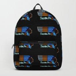 Santa Fe Indian pop art Backpack