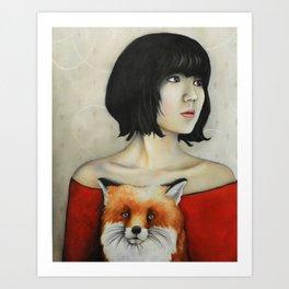 Nine Tales Of The Fox Art Print