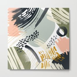 Abstract autumn season Metal Print