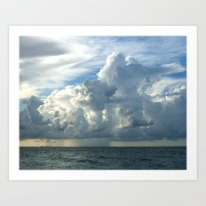 Sanibel Sky Art Print