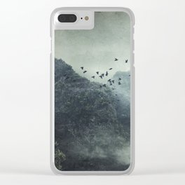 Misty Mountains Vol. X Clear iPhone Case
