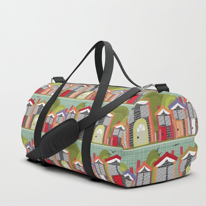 Literally Living in a Jane Austen Novel Duffle Bag