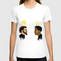 kendrick lamar T-shirts featuring 2 Kings. Kendrick Cole by MikeHanz