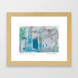 Come Swimming Framed Art Print