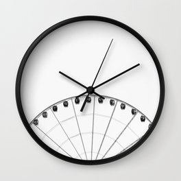 No More Colors #society6 Wall Clock